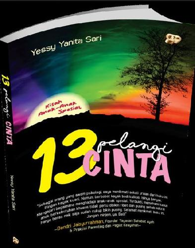 Cover Buku 13 Pelangi Cinta