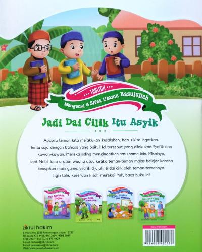 Cover Belakang Buku Jadi Dai Cilik Itu Asyik [full color]