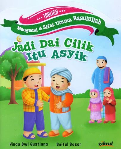 Cover Buku Jadi Dai Cilik Itu Asyik [full color]