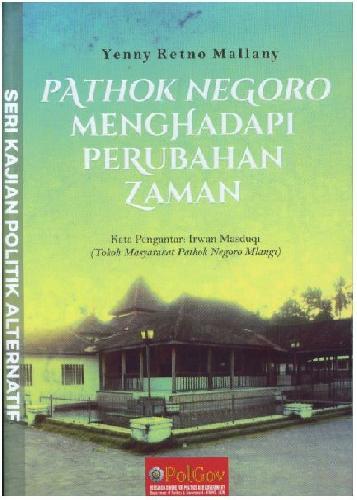 Cover Buku Pathok Negoro Menghadapi Perubahan Zaman