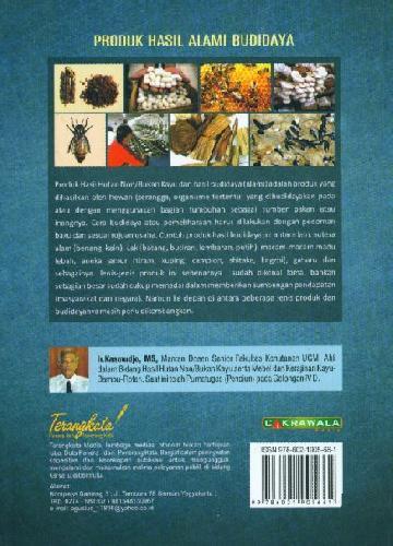 Cover Belakang Buku Produk Hasil Alami Budidaya (Kondisi dan Peluang)