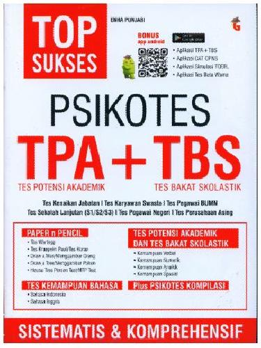 Cover Buku Top Sukses Psikotes TPA + TBS
