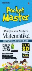 Pocket Master Ringkasan Materi Matematika SD 4-5-6