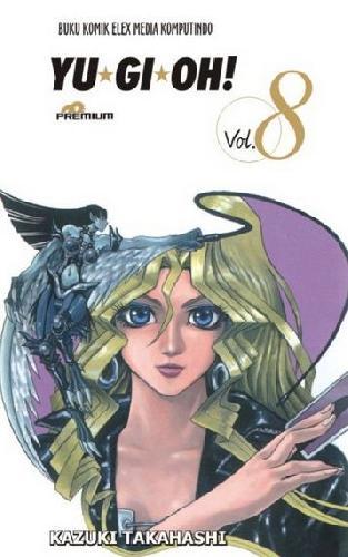 Cover Buku Yu-Gi-Oh (Premium) 8