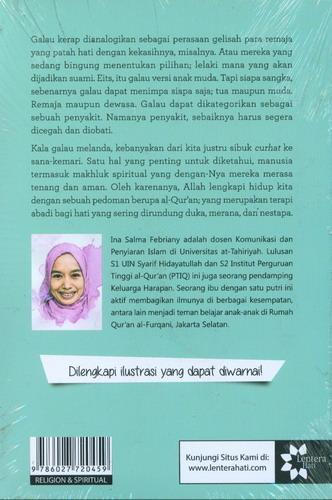 Cover Belakang Buku 60 Resep Antigalau : Imunisasi Hati dengan Al-Quran