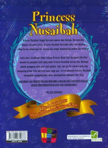 Cover Belakang Buku Princess Nusaibah