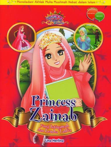 Cover Buku Princess Zainab yang Istiqamah dan Lomba Tahfiz