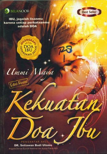 Cover Buku Kekuatan Doa Ibu Edisi Revisi