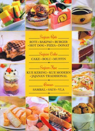 Cover Belakang Buku Superlengkap Sajian Roti Cake dan Kue