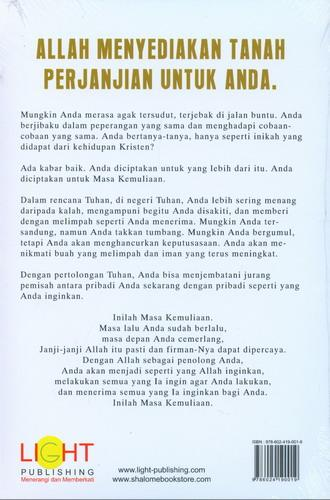Cover Belakang Buku Glory Days (Masa Kemuliaan)