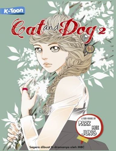 Cover Buku Cat and Dog #2