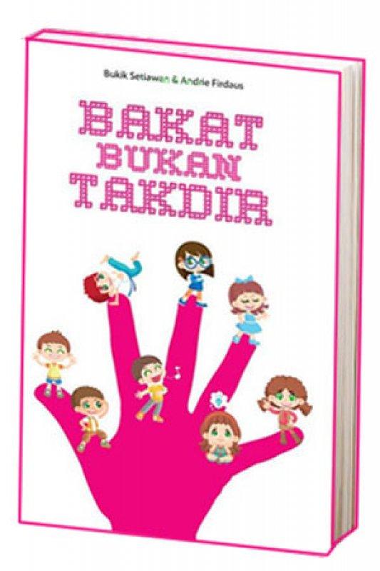 Cover Buku Bakat Bukan Takdir