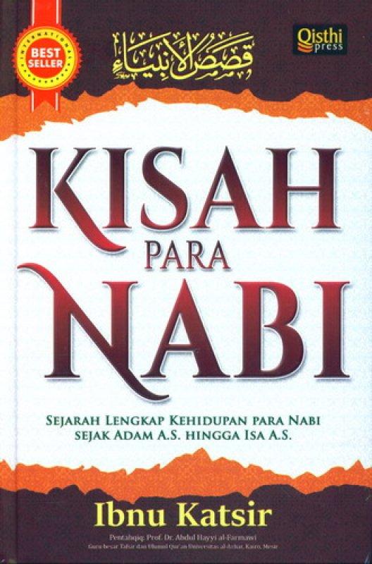 Cover Buku Kisah Para Nabi