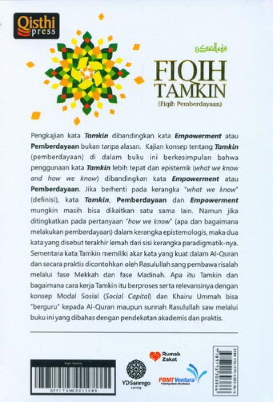 Cover Belakang Buku Fiqih Tamikin (Fiqih Pemberdayaan)