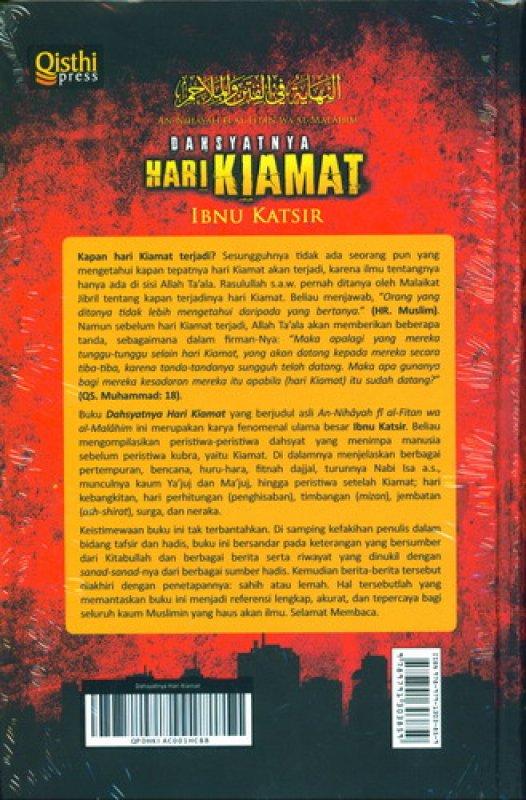 Cover Belakang Buku Dahsyatnya Hari Kiamat