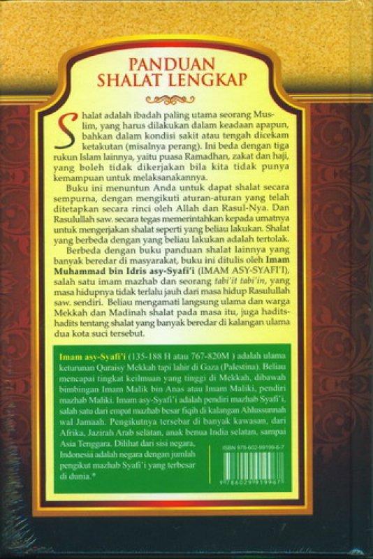 Cover Belakang Buku Panduan Shalat Lengkap (Tata Cara Shalat Sesuai Tuntunan Rasulullah)