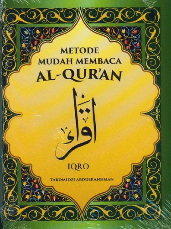 Cover Buku Metode Mudah Membaca AL-QURAN