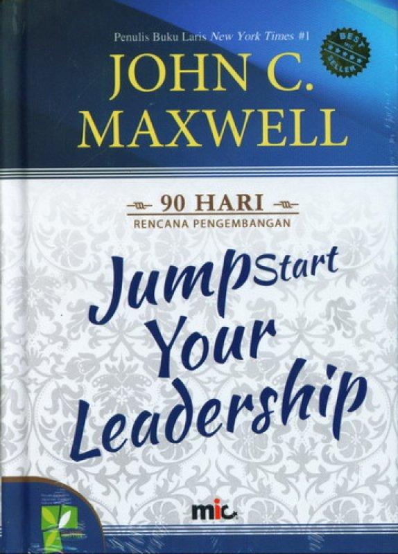 Cover Buku Jumpstart Your Leadership