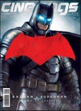 Majalah Cinemags Cover Batman vs Superman   Edisi 200 - Maret 2016
