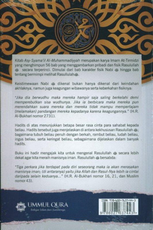 Cover Belakang Buku Mengenal Pribadi Agung Nabi Muhammad