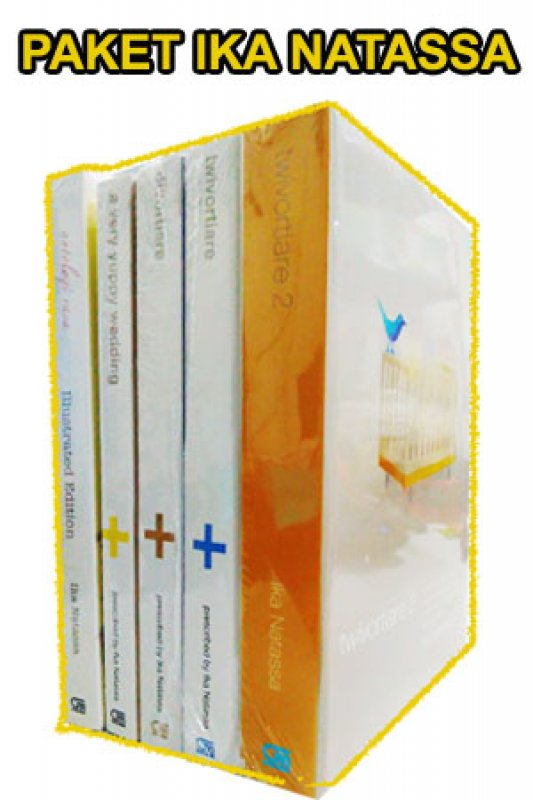 Cover Belakang Buku Paket Buku Ika Natassa 2