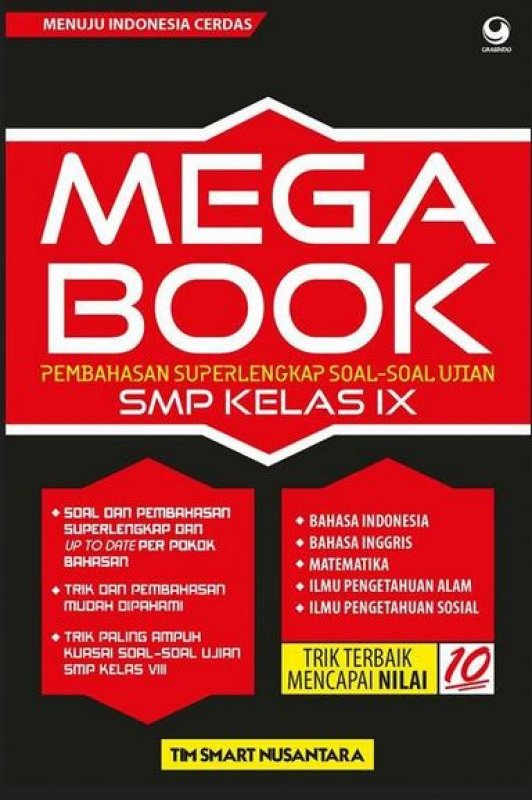 Cover Buku Mega Book SMP Kelas IX
