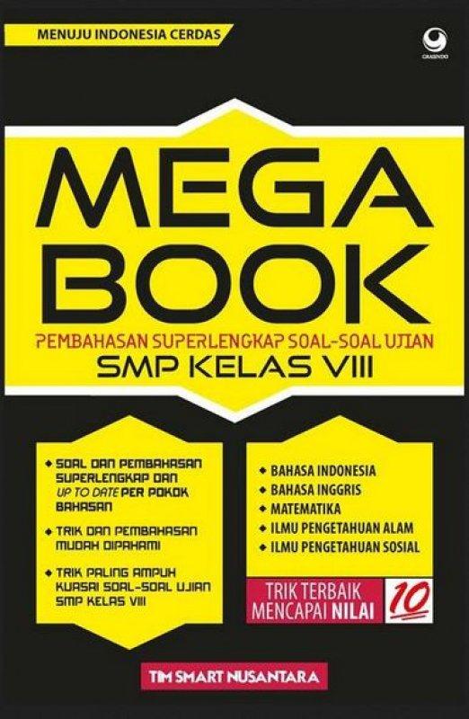 Cover Buku Mega Book SMP Kelas VIII