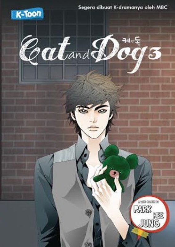 Cover Buku Cat And Dog #3
