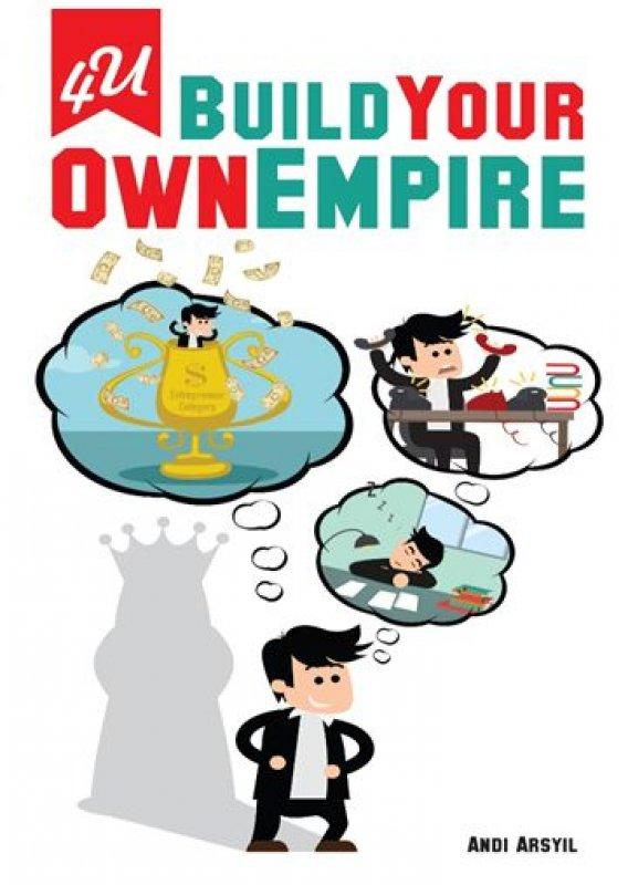 Cover Buku 4U Build Your Own Empire