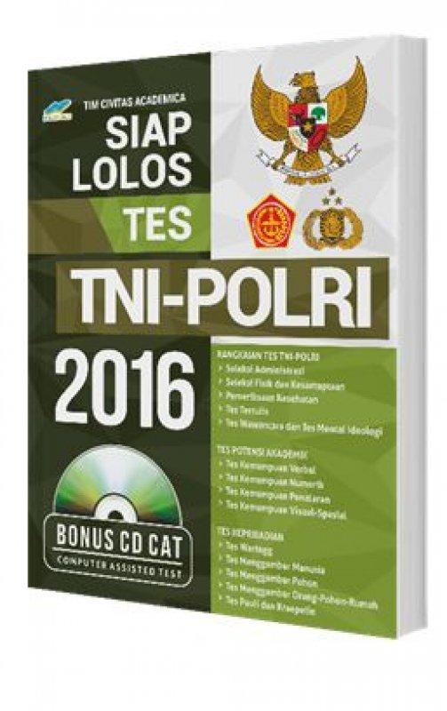Cover Buku Siap Lolos Tes TNI POLRI 2016