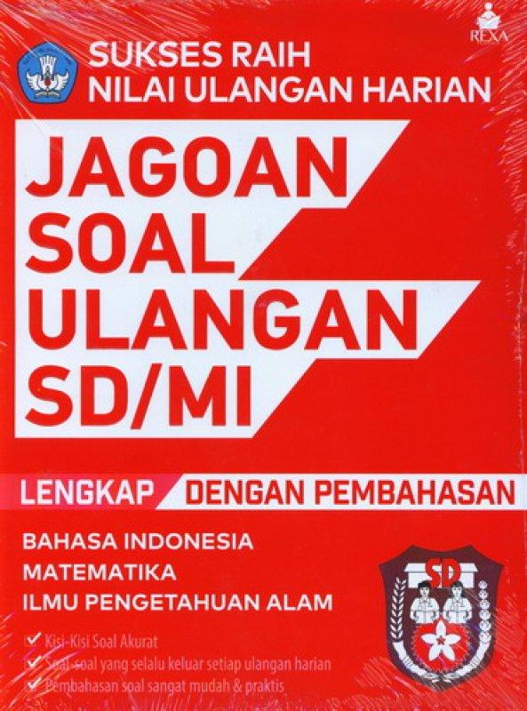 Cover Buku Jagoan Soal Ulangan SD/MI