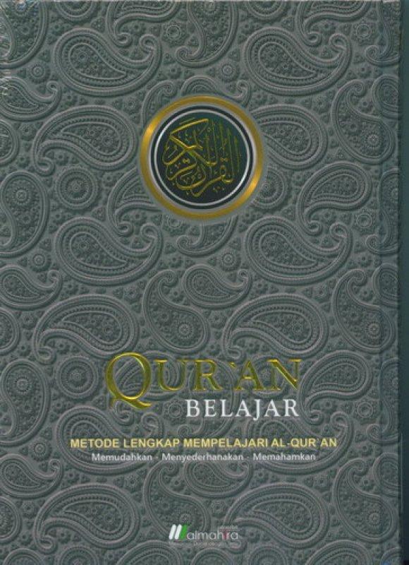 Cover Buku Quran Belajar Cover Spesial