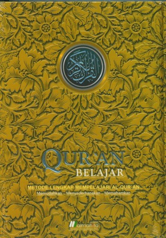 Cover Buku Quran Belajar Cover Batik