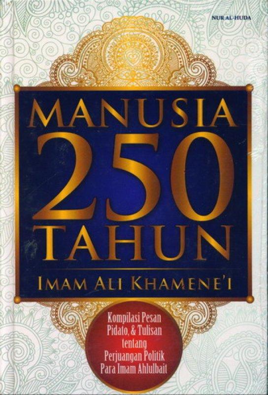 Cover Buku Manusia 250 Tahun