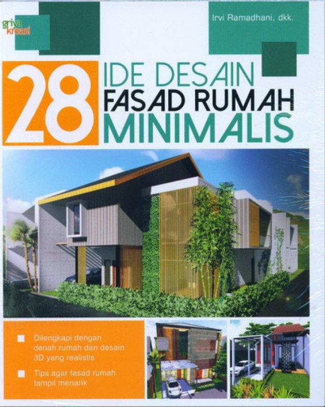 Cover Buku 28 Ide Desain Fasad Rumah Minimalis