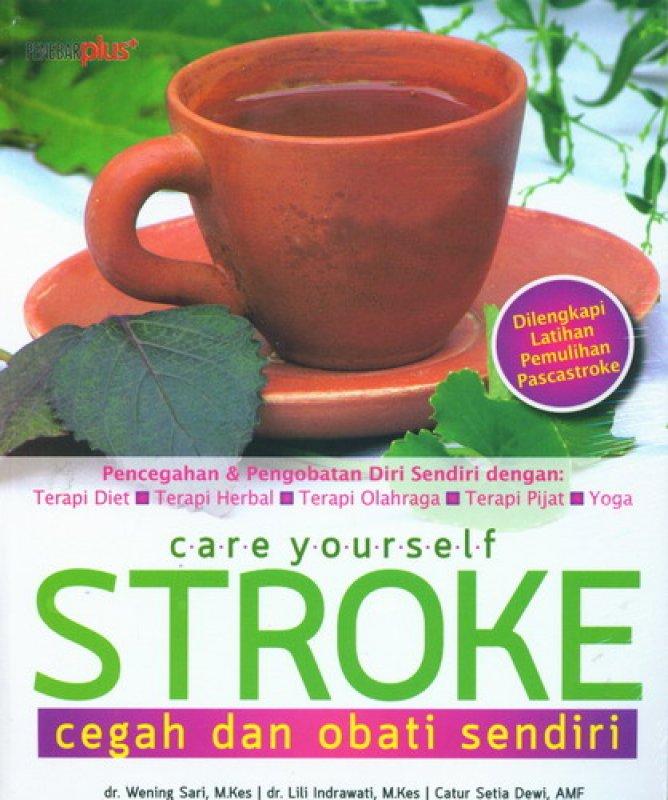 Cover Buku Stroke Cegah dan Obati Sendiri