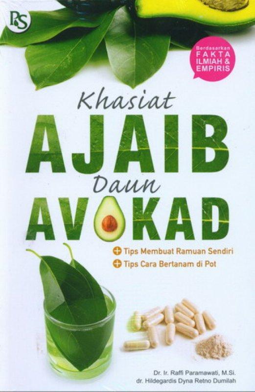 Cover Buku Khasiat Ajaib Daun Avokad