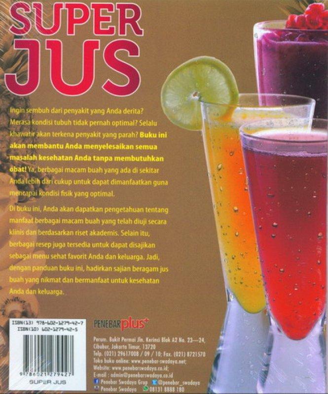 Cover Belakang Buku Super Jus