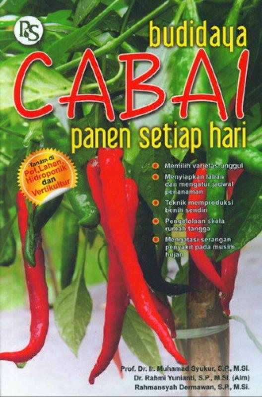 Cover Buku Budidaya Cabai Panen Setiap Hari