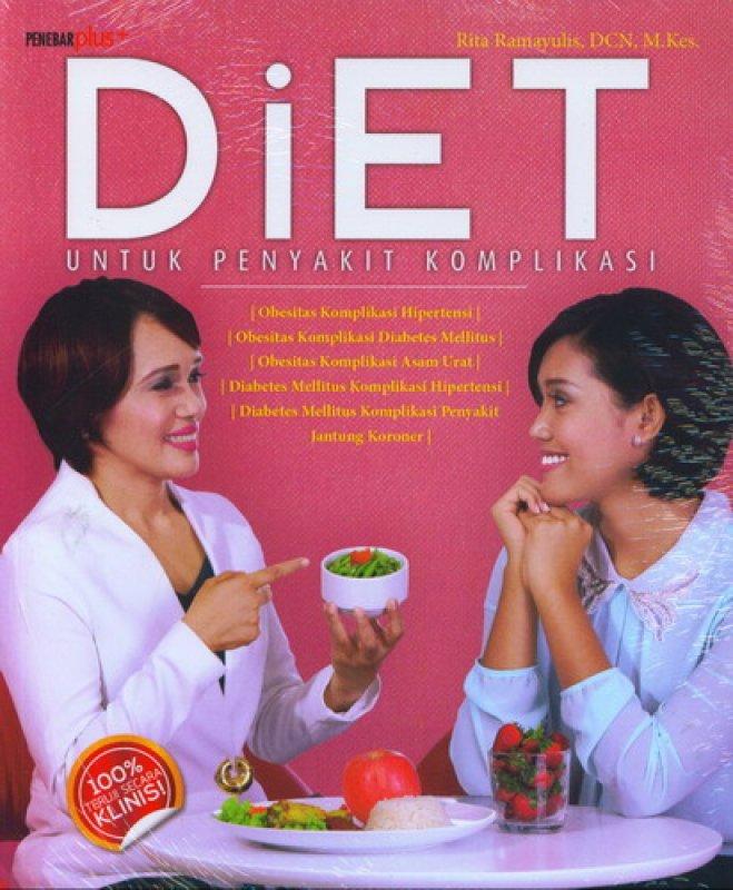 Cover Buku Diet Untuk Penyakit Komplikasi