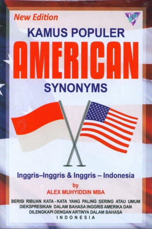 Cover Buku New Edition Kamus Populer American Synonyms