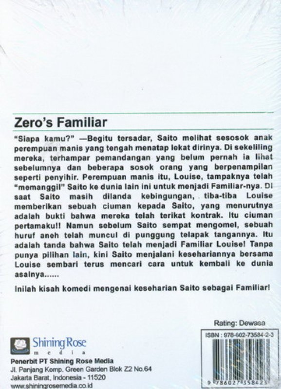 Cover Zeros Familiar