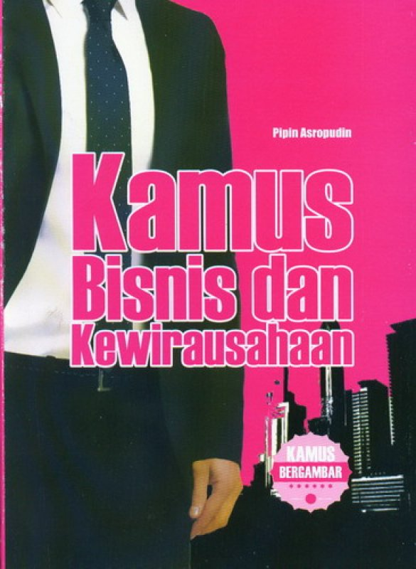 Cover Buku Kamus Bisnis dan Kewirausahaan