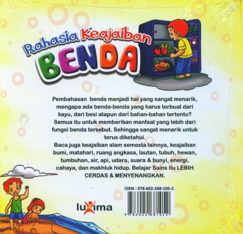 Cover Rahasia Keajaiban #14: Benda (Bilingual)