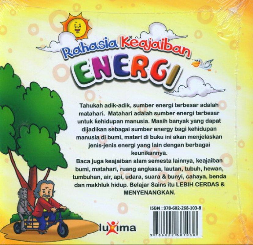 Cover Belakang Buku Rahasia Keajaiban #12: Energi (Bilingual)