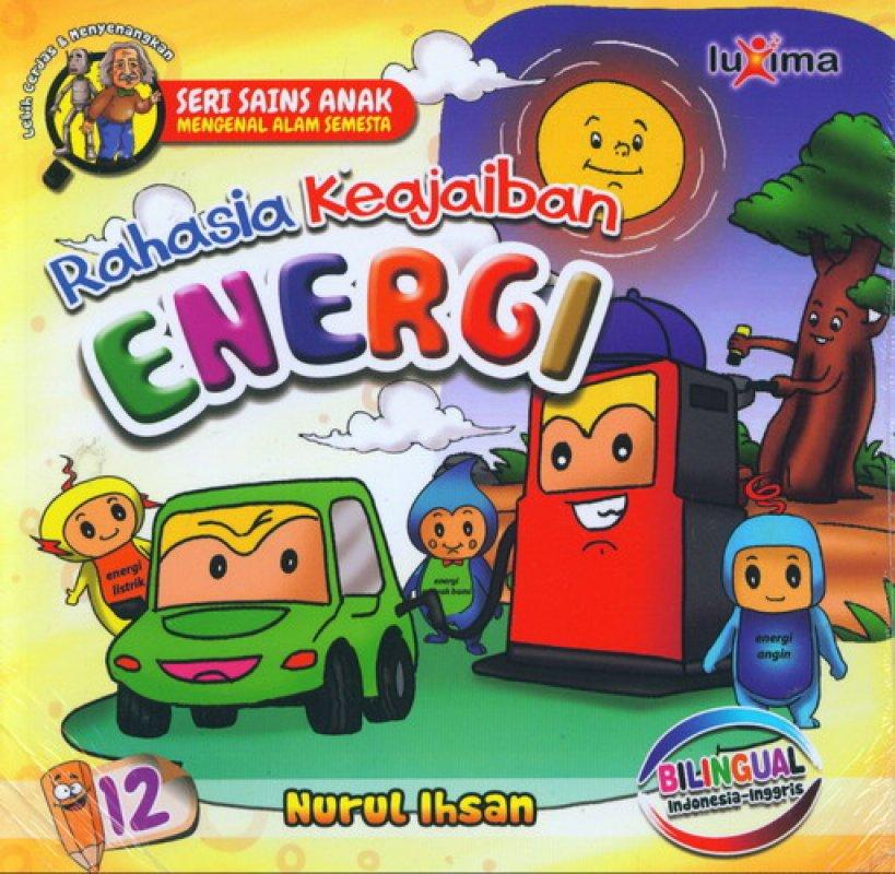 Cover Buku Rahasia Keajaiban #12: Energi (Bilingual)