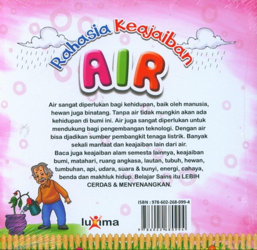 Cover Belakang Buku Rahasia Keajaiban #8: Air (Bilingual)