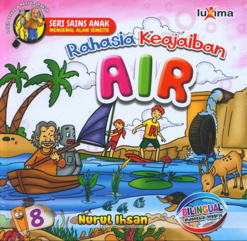 Cover Buku Rahasia Keajaiban #8: Air (Bilingual)