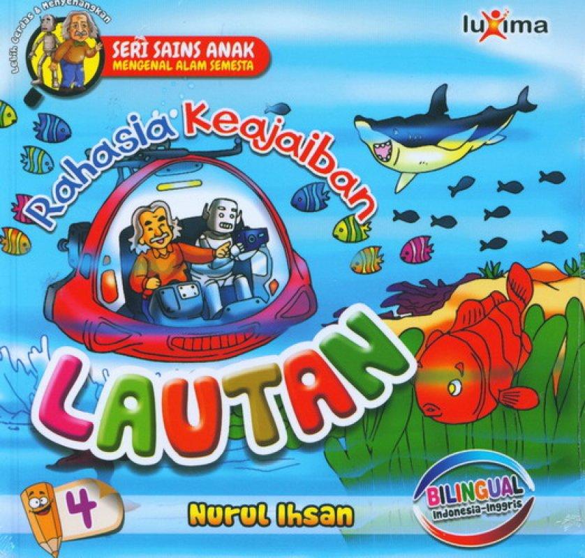 Cover Buku Rahasia Keajaiban #4: Lautan (Bilingual)