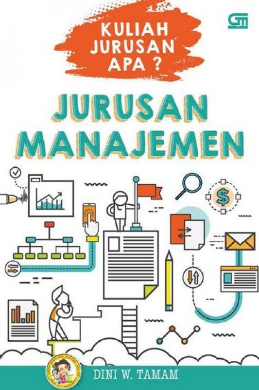 Cover Buku Kuliah Jurusan Apa? Jurusan Manajemen